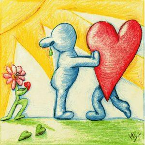 pushing away love