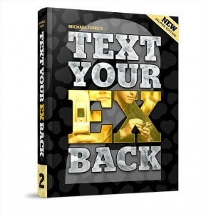 Text Your Ex Back 2.0 Ebook cover by Michael Fiore